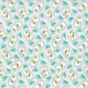 Color Me Happy 10821-17 Gray Bouquet by V & Co for Moda