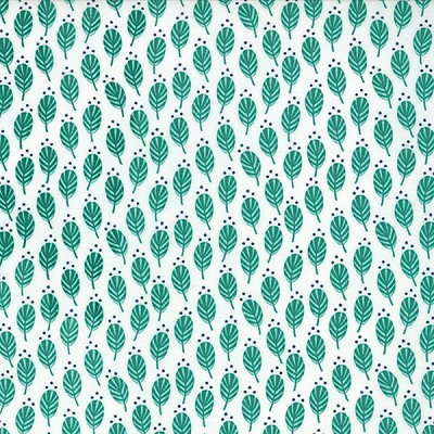 Color Me Happy 10822-21 Dark Teal Sprouts by V & Co for Moda
