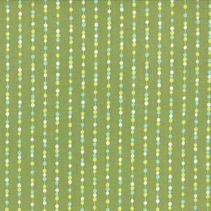 Color Me Happy 10825-15 Lime Beads by V & Co for Moda