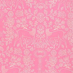 Gypsy Girl 11465-18 Candy Floss Pink Secret Meadow by Moda