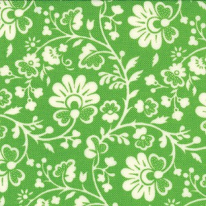 Gypsy Girl 11466-15 Key Lime Chinoiserie by Moda