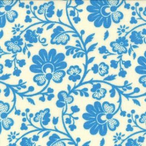 Gypsy Girl 11466-23 Wishing Well Blue Chinoiserie for Moda