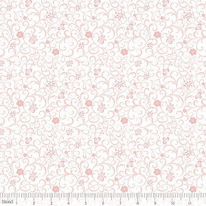 Modern Lace 115.105.04.1 Pink Whitework by Blend