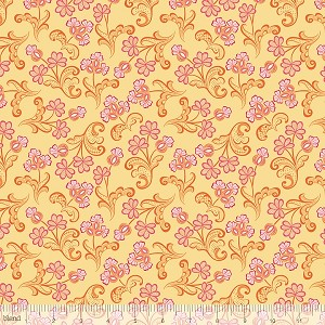 Modern Lace 115.105.05.1 Yellow Reticella by Blend
