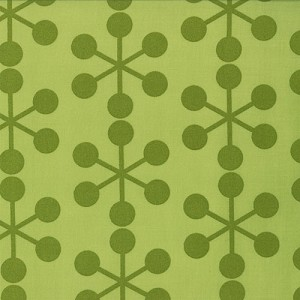 Comma 1511-22 Lime Asteriks by Zen Chic for Moda