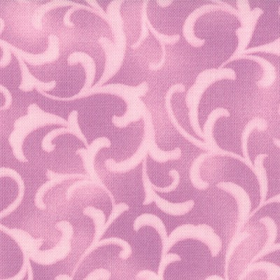 Coquette 16065-18 Lavender Scroll by Chez Moi for Moda
