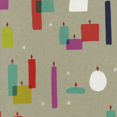 Moonlit 1909-12 Light a Candle Cotton/Linen by Cotton + Steel