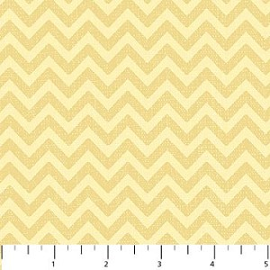 Feathered Friends 20033-52 Yellow Tonal Chevron by Northcott