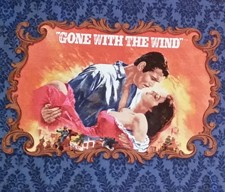 Gone With The Wind An American Classic 21283-N Blue Movie Panel