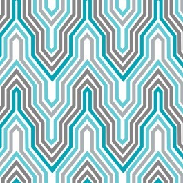 Design Studio Collection 2140504-1 Blue/Gray Fretwork by Camelot