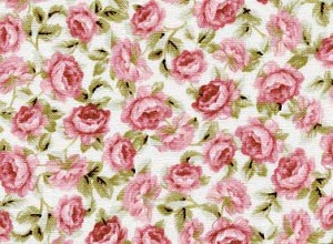 Sarah's Collection 22102 Lt Pink Rose Garden by Red Rooster