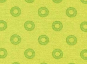 Summerhome 24046 Green Circles by Kathy McGee for Red Rooster