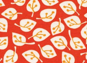 Summerhome 24047 Red Leaves by Kathy McGee for Red Rooster