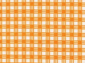 Summerhome 24048 Orange Gingham by Kathy McGee for Red Rooster