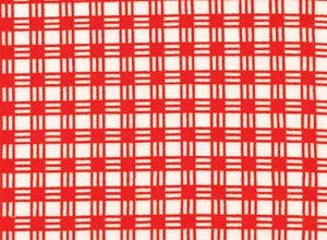 Summerhome 24048 Red Gingham by Kathy McGee for Red Rooster