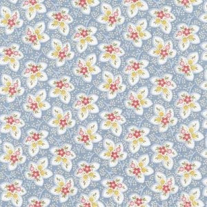 Attic Treasures 24090 Blue Floral Leaf by Red Rooster