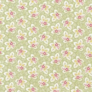 Attic Treasures 24090 Green Floral Leaf by Red Rooster