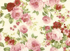 Sarah's Collection 24423 Multi Large Floral by Red Rooster