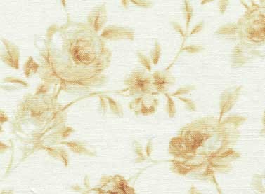Sarah's Collection 24427 Lt Beige Rose Garland by Red Rooster