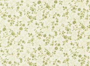 Sarah's Collection 24429 Lt Green Small Floral by Red Rooster