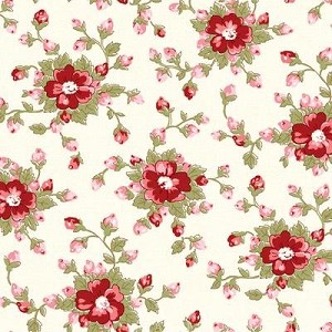 With All My Heart 24807 Multi Medium Floral by Red Rooster