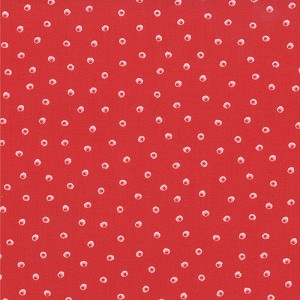 Chantilly 25078-14 Poppy Dots by Moda