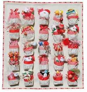 Only 25 More Sleeps Advent Calendar Pattern by Don't Look Now