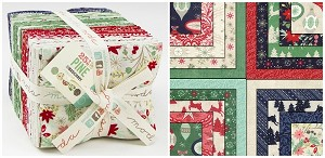 25th & Pine 40 Fat Quarter Bundle by Basic Grey for Moda