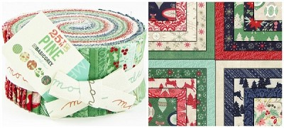 25th & Pine Jelly Roll by Basic Grey for Moda