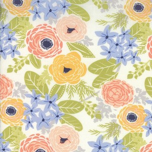 Sunnyside 27160-11 Vapor Buttercup by Kate Spain for Moda
