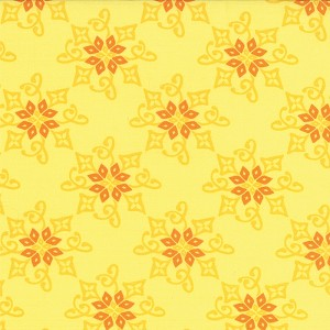 Daydream 27174-12 Yellow Reflection by Kate Spain for Moda