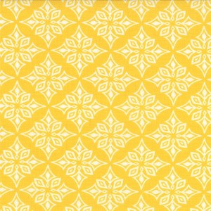 Daydream 27178-12 Yellow Vestige by Kate Spain for Moda
