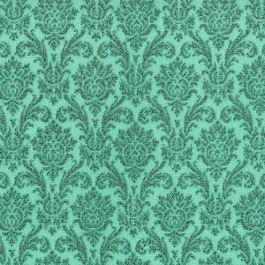 Blitzen 30298-18 Aqua Damask by Basic Grey for Moda