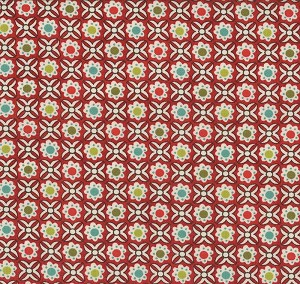 Aspen Frost 30334-16 Cranberry Sauce Strudel by Basic Grey for Moda