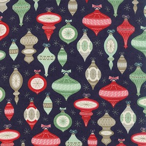25th & Pine 30360-15 Midnight Ornament Square by Basic Grey for Moda