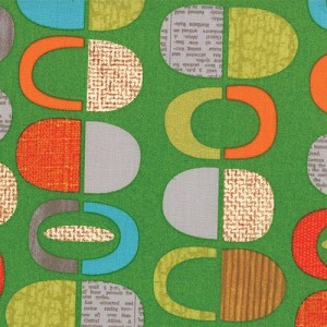 Mod Century 30511-13 Leaf Half Pods by Jenn Ski for Moda