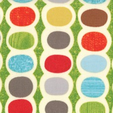 Mod Century 30513-13 Leaf Pod Stripes by Jenn Ski for Moda