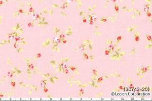 Floral Collection 30743-20 Pink Small Floral by Lecien