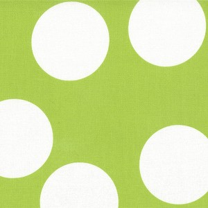 Half Moon Modern 32357-30 Lime Big Dots by Moda