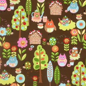 Cherry on Top 32700-19 Chocolate Sweet Critters by Keiki for Moda