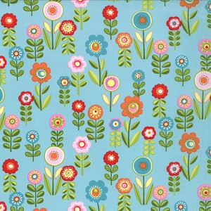 Cherry on Top 32703-16 Blueberry Candy Garden by Keiki for Moda