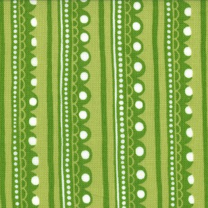 Cherry on Top 32706-13 Pistachio Sweet Stripes by Keiki for Moda EOB