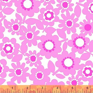 Pocket Full of Posies 33371-1 Pink Floral by Windham