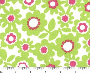 Pocket Full of Posies 33371-3 Green Floral by Windham