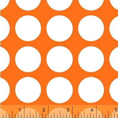 Multidot 35187-4 Orange Medium Dot by French Bull for Windham EOB