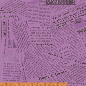 Paint 36530A-1 Violet News Print by Such Designs for Windham