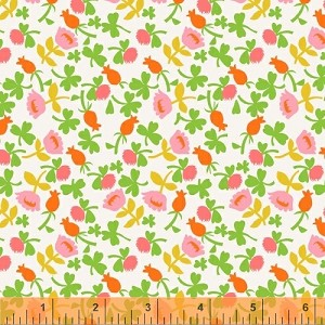 Briar Rose 37027-6 Pink Calico by Heather Ross for Windham