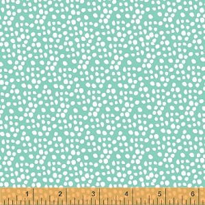 Garden Party Tango 38897-1 Aqua Dots by Windham