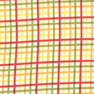 Bungle Jungle 39506-17 Yellow Zoo Checks by Tim & Beck for Moda
