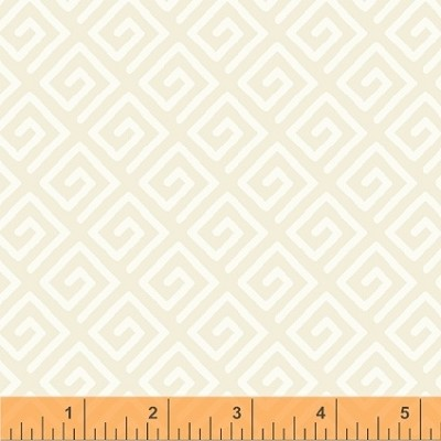 "Modern 108"" Quilt Backing 39511-1 Cream Key by Windham"